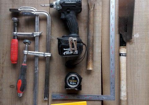 【セルフビルド・DIY入門講座】 Vol.1 心構えと準備編 No.3 ひとまずこれでOK!お気に入りの7つの道具をそろえよう!