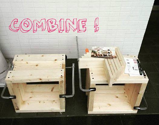 【セルフビルド・DIY入門講座】 VOL.2 基礎編 NO.5 フレキシブルBOXの作り方。フレーム同士を組み合わせよう!