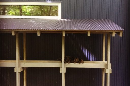 ホームセンターの材料で薪小屋と焚き火台を作ろう!