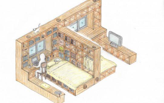 「ねこのしろ」で自分で作る猫と暮らす家 ~2つの子供部屋編~