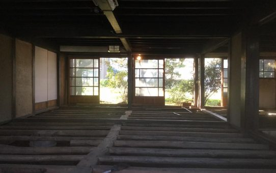 上田市で古民家のセルフリノベーションがスタート!