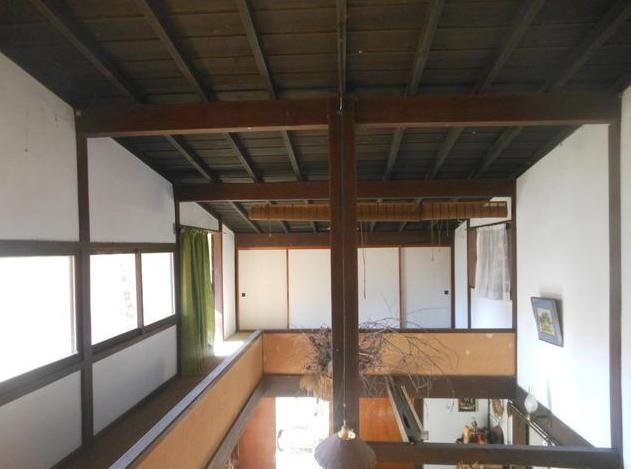 貸切りの森に大きなウッドデッキと工房のある家【空き家活用妄想PLAN19】