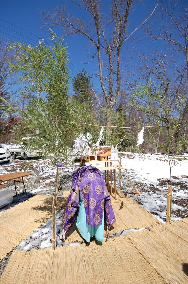 アソビバ・マナビバ・ノミバー小屋作り。